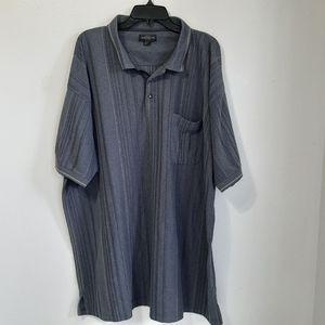Knights gray striped sportswear shirt